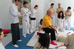 Shiatsu program – October 2012, in Rome, Italy