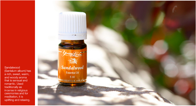 Young Living sandalwood essential oil