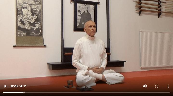 zazen meditation with Rex Lassalle